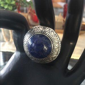 Silpada Jewelry - Silpada Peruvian Lapis Sterling Silver Ring